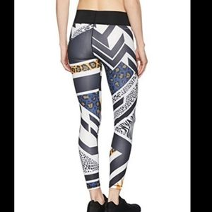 Adidas Multicolored Wo Tight Africa Tights For Wom